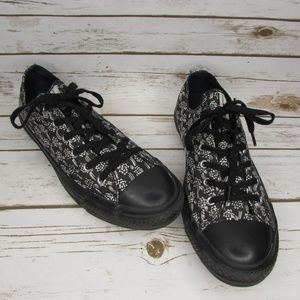 Converse All Star x Marimekko Black White Floral